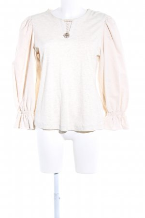 Petressa Traditional Jumper natural white flecked casual look