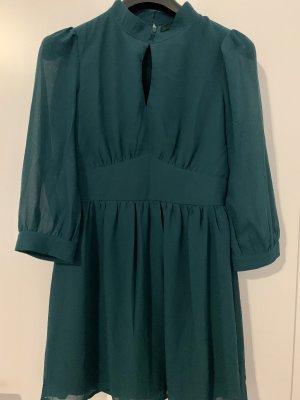Petrol Grünes Kleid