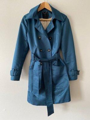 Philosophy Blues Original Trench Coat cadet blue polyamide