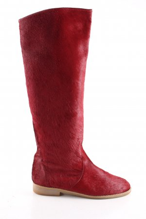 Petruska Fellstiefel rot Casual-Look