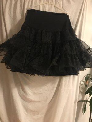 keine Falda de tul negro