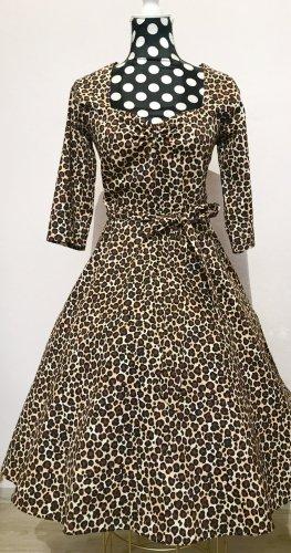 Lady Vintage Petticoat Dress multicolored cotton