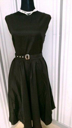 Petticoat Kleid / Rockabilly Kleid (B13850) schwarz Größe 44