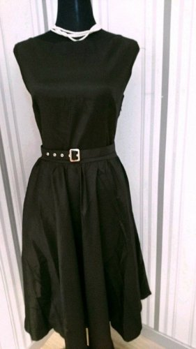 Petticoat Dress black mixture fibre