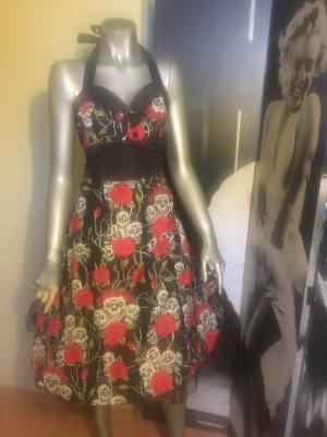Petticoat Dress black-red