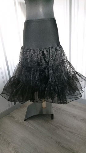 Underskirt black mixture fibre