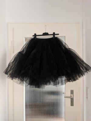 Petticoat schwarz 5 lagig