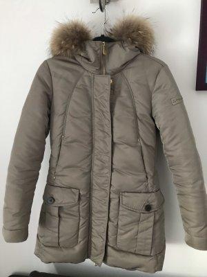 Peuterey Down Coat grey brown-beige