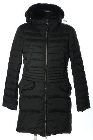 Peuterey Daunenmantel schwarz Steppmuster Casual-Look