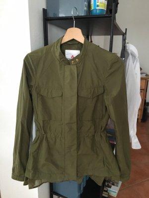 Peuterey Jacke Khaki übergangsjacke 36 38 grün Parka
