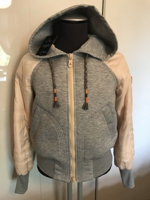 Peuterey Jacke Sweatshirts Perlmutt Grau Gr. S Neu NP 399€