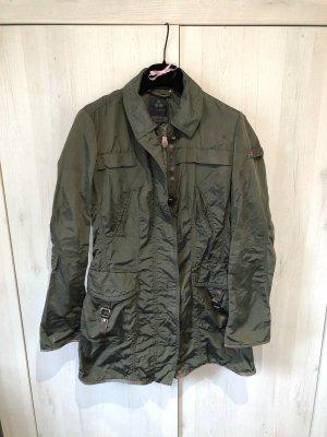 Peuterey Jacke Übergangsjacke oliv khaki metallic| 38 |