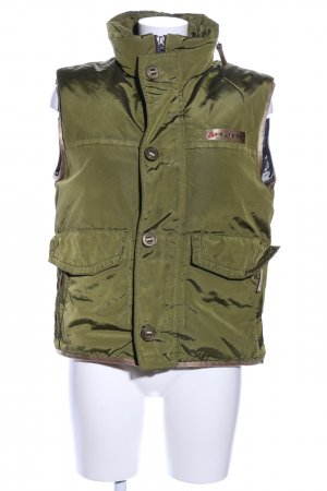 Peuterey Hooded Vest khaki-natural white casual look