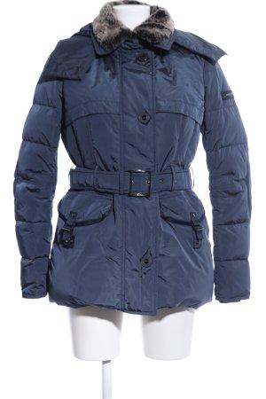Peuterey Outdoorjacke blau Steppmuster Casual-Look