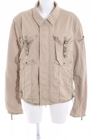 Peuterey Safari Jacket nude casual look