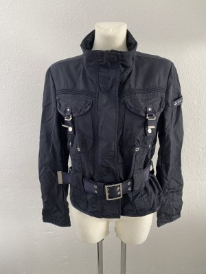 Peuterey Biker Jacket dark blue