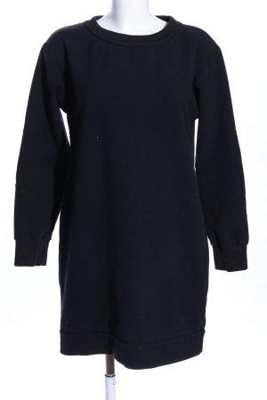 Peuterey Sweatkleid schwarz Casual-Look