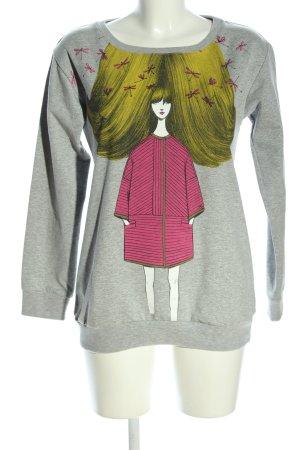 Peuterey Sweatshirt meliert Casual-Look