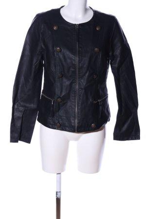 Pfeffinger Faux Leather Jacket black casual look