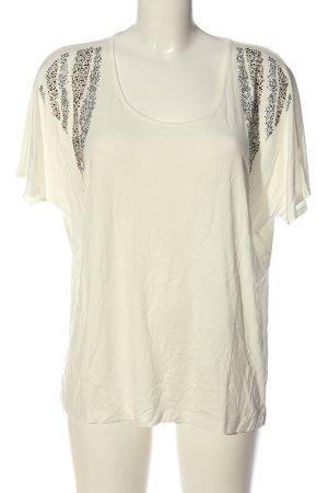 Pfeffinger T-Shirt wollweiß Casual-Look