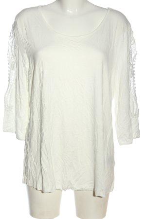 Pfeffinger T-Shirt weiß Casual-Look