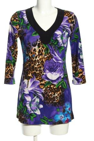 Pfeffinger Long-Bluse Blumenmuster Casual-Look