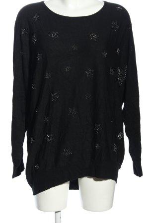 Pfeffinger Longshirt schwarz Casual-Look