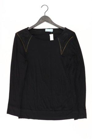 Pfeffinger Longsleeve-Shirt Größe 42 Langarm schwarz aus Viskose