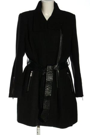 Pfeffinger Oversized Mantel schwarz Casual-Look