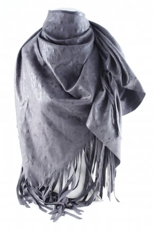 Pfeffinger Shoulder Scarf grey street-fashion look