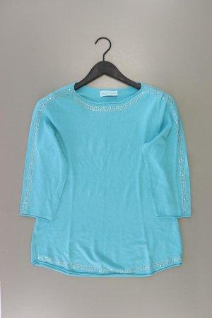 Pfeffinger Shirt Größe 42 3/4 Ärmel türkis aus Viskose