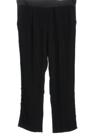 Pfeffinger Pantalón tipo suéter negro look casual