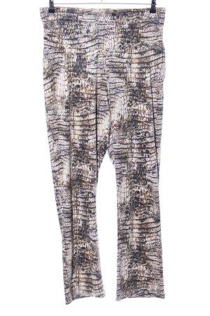Pfeffinger Pantalone elasticizzato stampa integrale stile casual