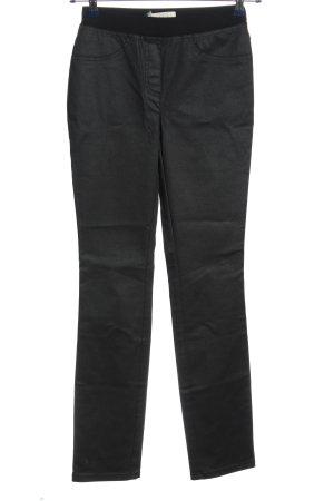 Pfeffinger Stretchhose schwarz Casual-Look