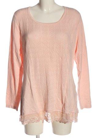 Pfeffinger Feinstrickpullover pink Casual-Look