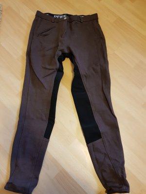 Pfiff Reitsport Pantalone da equitazione marrone