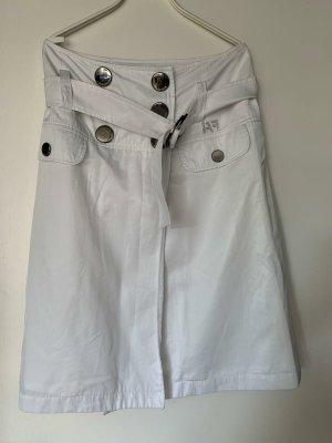 Airfield Pencil Skirt white