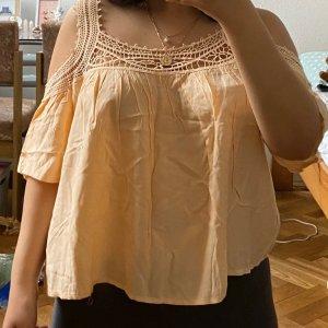 Pfirsichfarbene Bluse