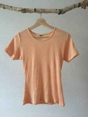 Geribd shirt veelkleurig