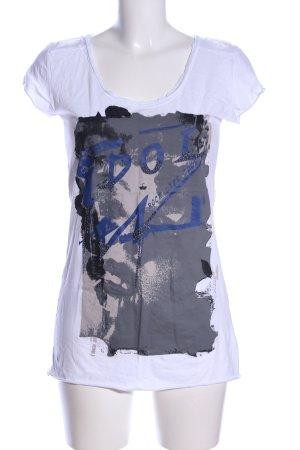 Ph Cristal T-Shirt abstraktes Muster Casual-Look