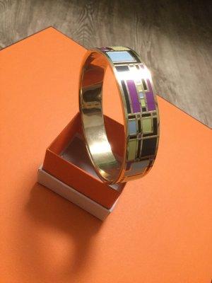 Phantastisches graphisch mehrfarbiges Armband. Sandrine. Modeschmuck.