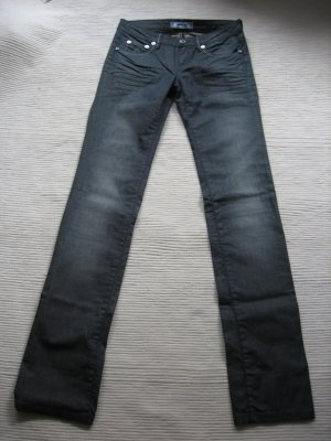 Phard Jeans a gamba dritta grigio scuro