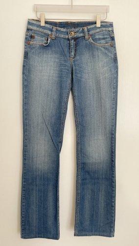 Phard Jeans a gamba dritta blu