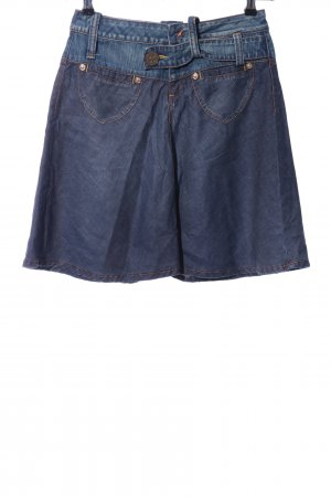 Phard Jeansrock blau Casual-Look