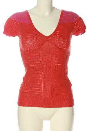 Phard Camicetta a maniche corte rosso stile casual