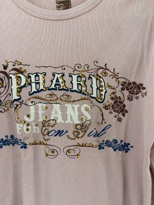 Phard Manica lunga rosa chiaro-blu scuro