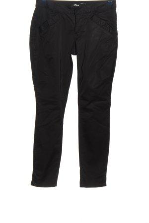 Phard Pantalone jersey nero stile casual