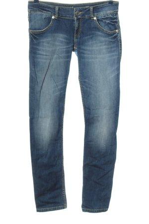 Phard Jeans a gamba dritta blu stile casual