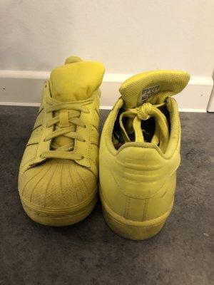 Adidas Sneakers met veters geel