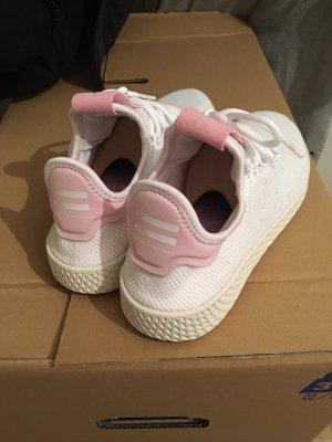 Adidas Sneakers met veters wit-lichtroze